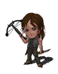 Daryl Pop by dragynsart