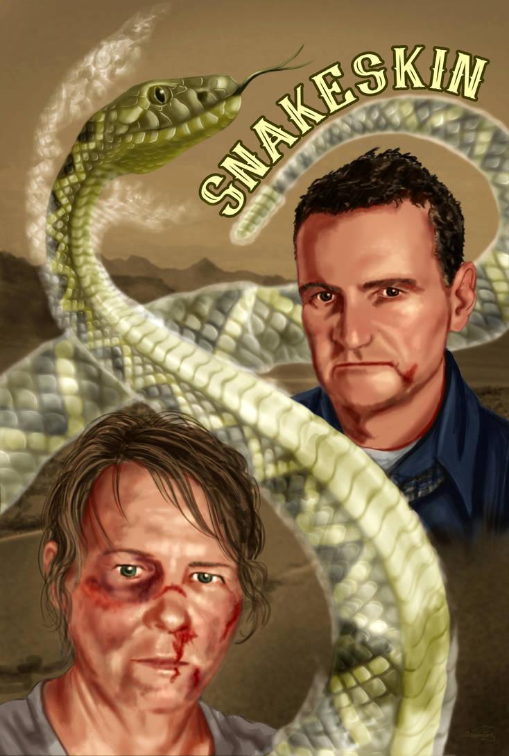 Snakeskin by dragynsart