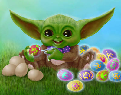 Baby Yoda Bunny