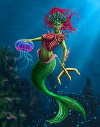 Mermaiden Warrior