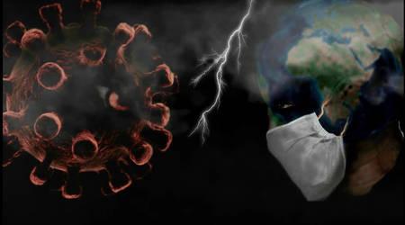 Coronavirus vs Earth - Animated film 'CHECKOVID'