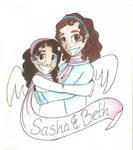 Sasha and Beth