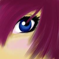 Blue Eyes by RubyDawnHunter