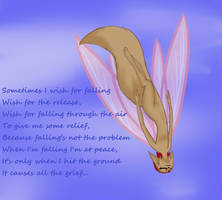 When I'm falling I'm at peace by RubyDawnHunter