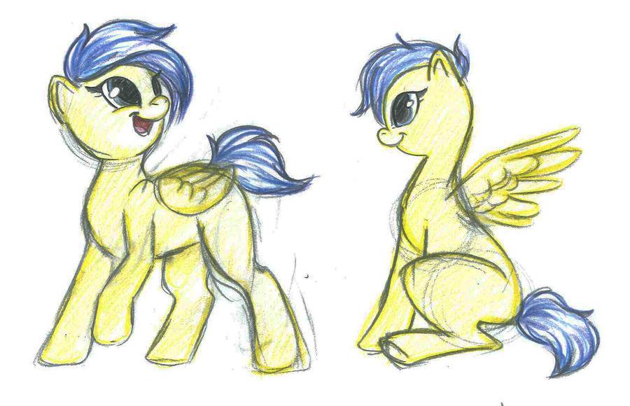 updated Pony by RubyDawnHunter