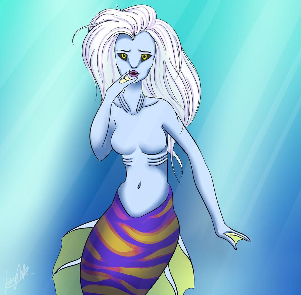 Mermaid Girl by RubyDawnHunter