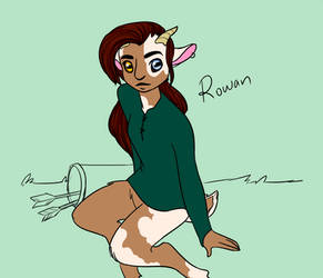 Rowan by RubyDawnHunter