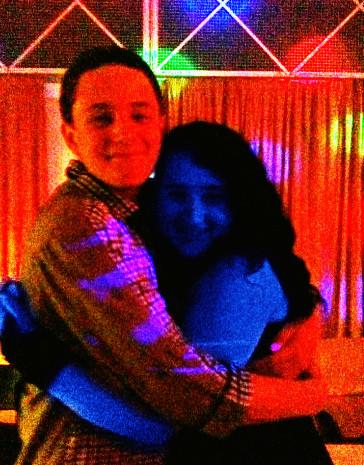 Hugging my friend by 13Vampirella