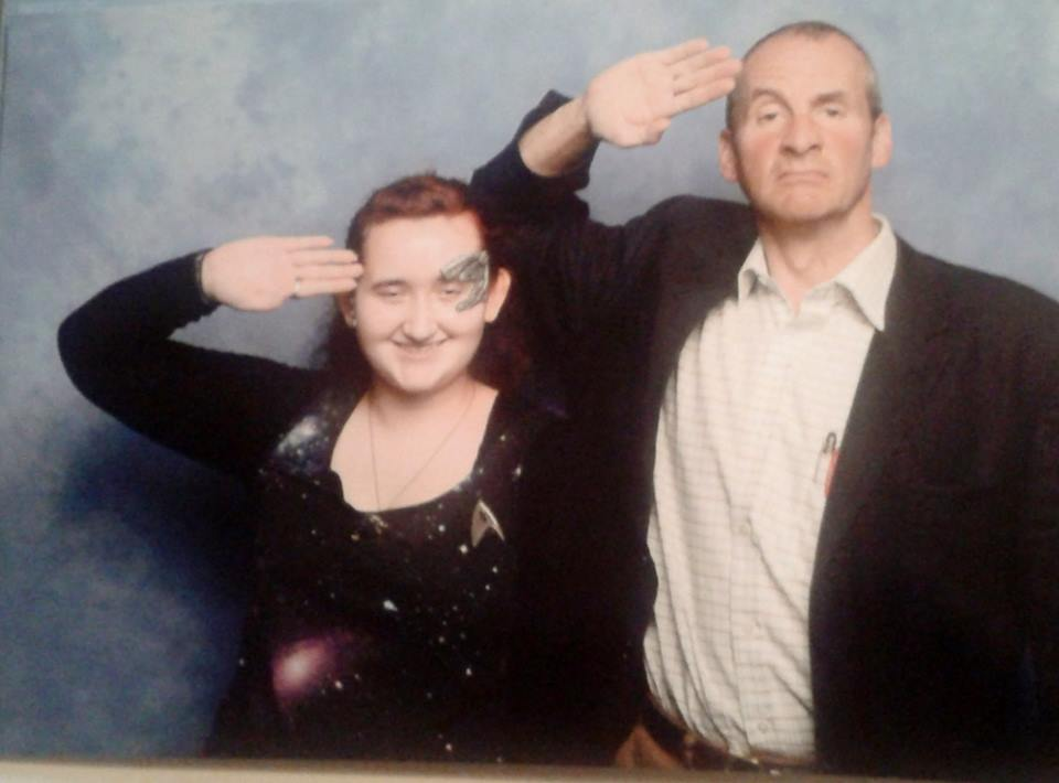 Comic Con - Chris Barrie by 13Vampirella