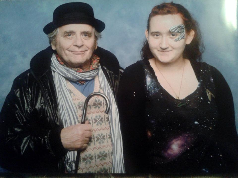 Comic Con - Sylvester McCoy by 13Vampirella
