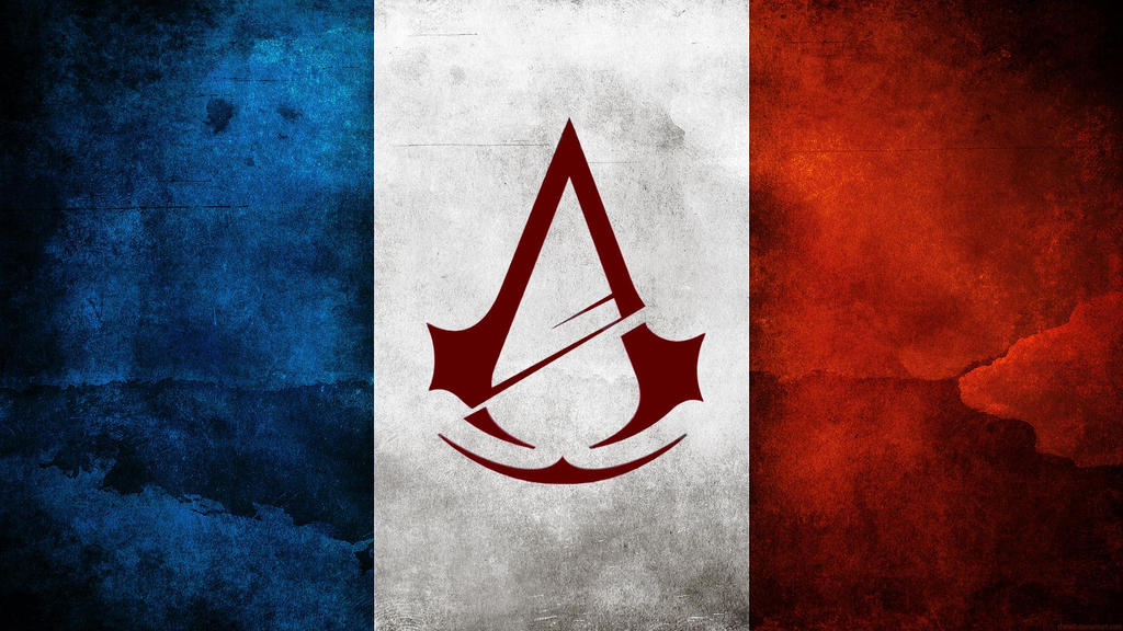 Assassins Creed Unity Flag Logo Wallpaper By MatrixUnlimited