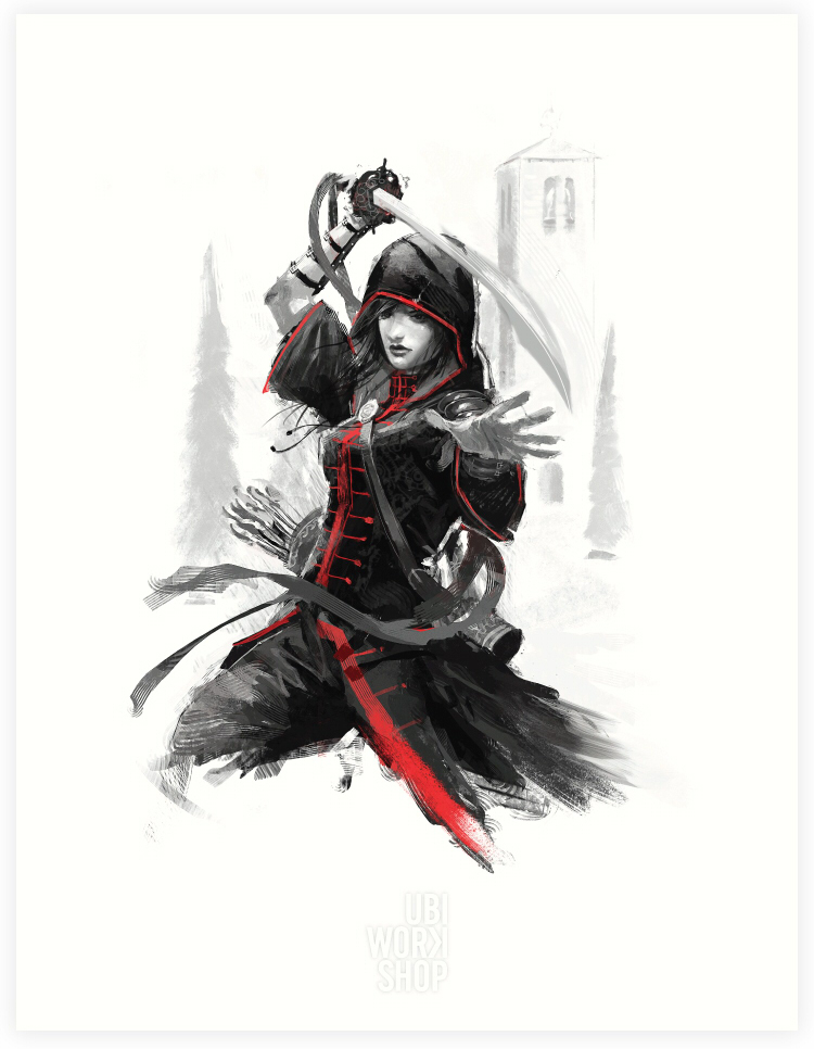 Assassin's Creed Shao Jun - Red Lineage Collection by MatrixUnlimited