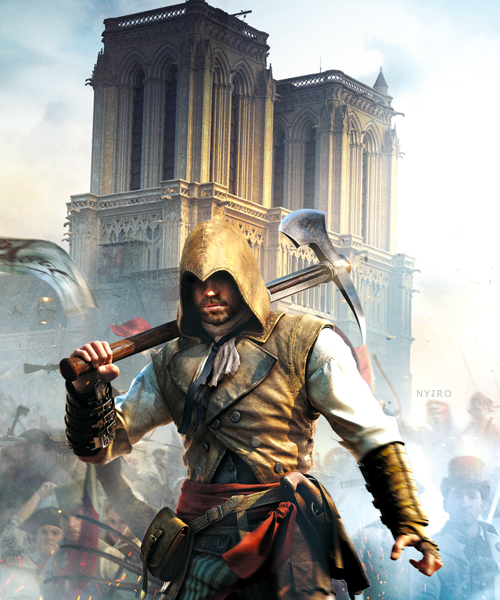 Assassin's Creed Unity Louis Lengendre The Axeman by ...