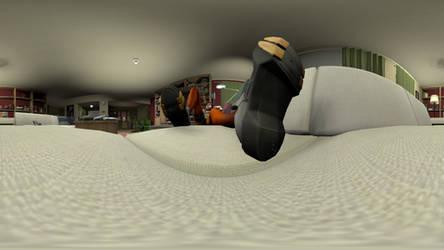 Sleeping Tracer 4K 360 Animation