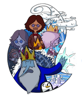 Becoming Ice King by FauxBoy
