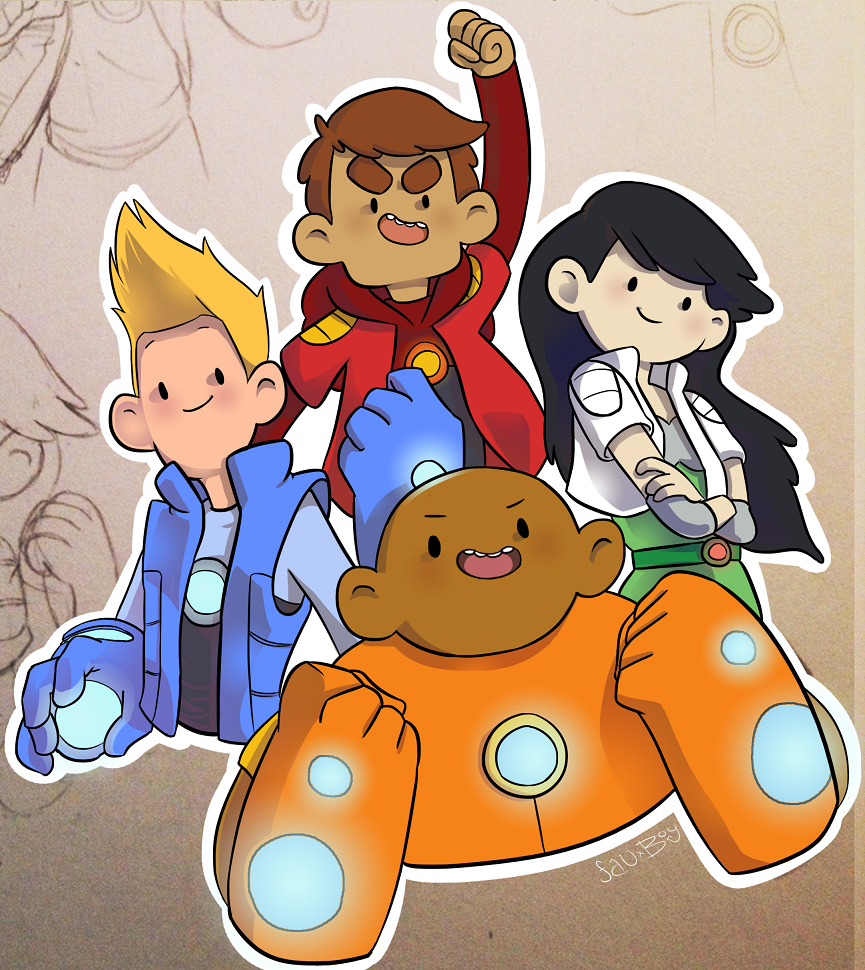 Bravest Warriors! by FauxBoy