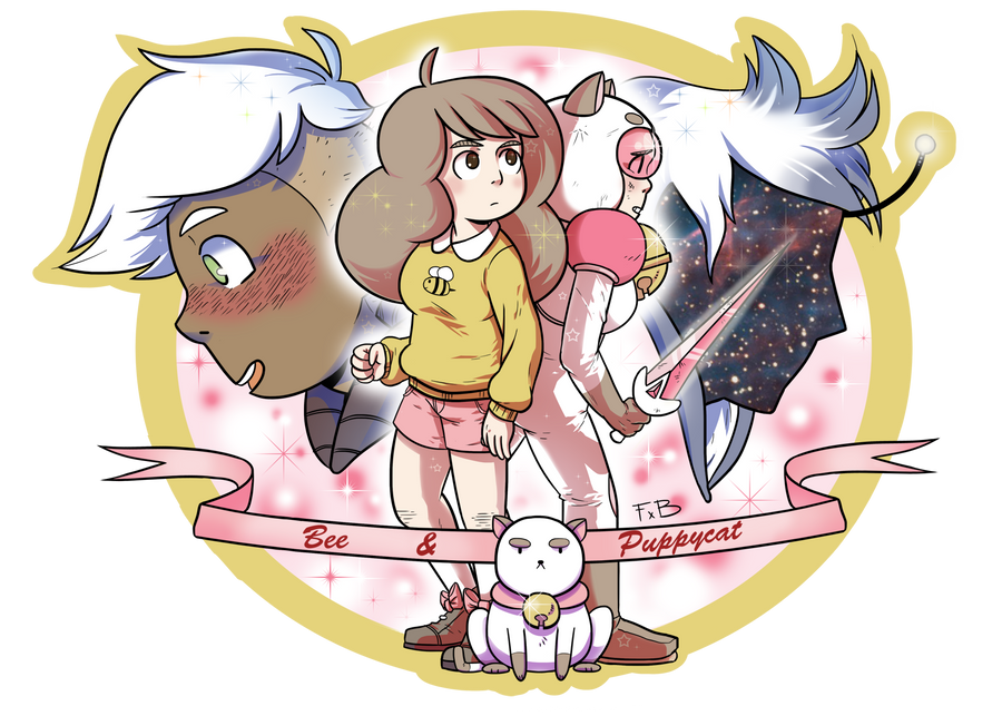 Bee and Puppycat by FauxBoy