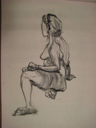 Life Drawing by arunyothin