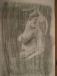 Life Drawing Oct 02 by arunyothin