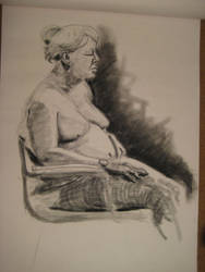 Life Drawing Oct 04 by arunyothin