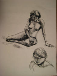 Life Drawing Oct 06 by arunyothin
