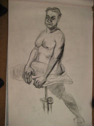 Life Drawing Oct 12 by arunyothin