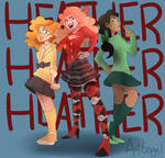 Heather, Heather, and Heather