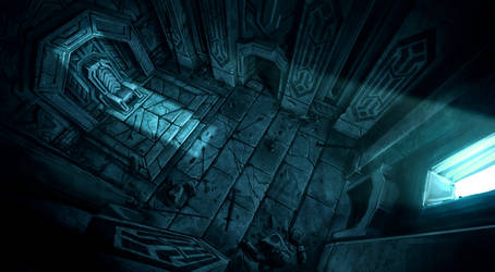 Moria Throne Room by Moondoodles