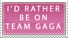 Team Gaga Stamp by Faroreswind159