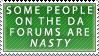 DA forums by Faroreswind159