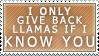 Llama Returns by Faroreswind159