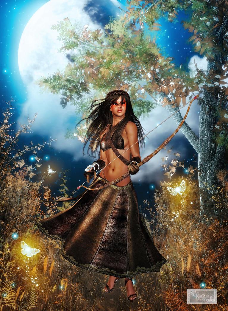 Artemis by nat-rat on DeviantArt