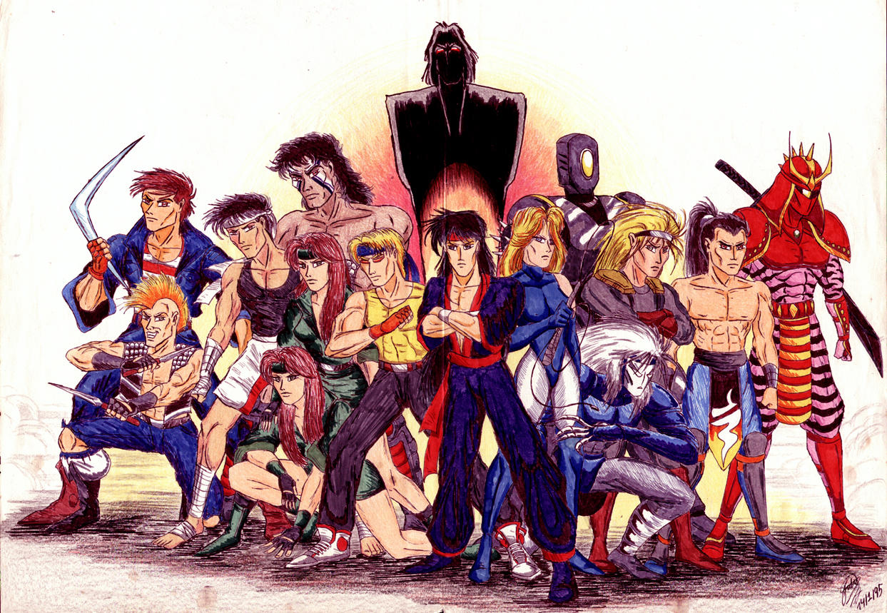 SOR and related fan artwork thread Streets_of_Rage_Bad_Guys_by_kairelld