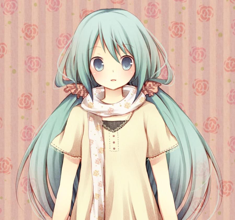 Cute miku x3 by mewmewsexyino on deviantart - Cute anime miku ...