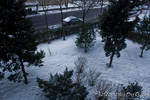 Snow in the Istanbul