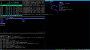 i3 on Kali Linux by crazytux