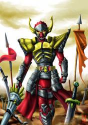 Fanart Kamen Rider Baron by YahyaDiatmika