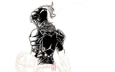 Sketch Fanart Goblin Sayer by YahyaDiatmika