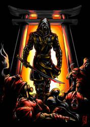 fanart ronin marvel avengers end game by YahyaDiatmika