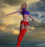 Supergirl 2nd skin render 2