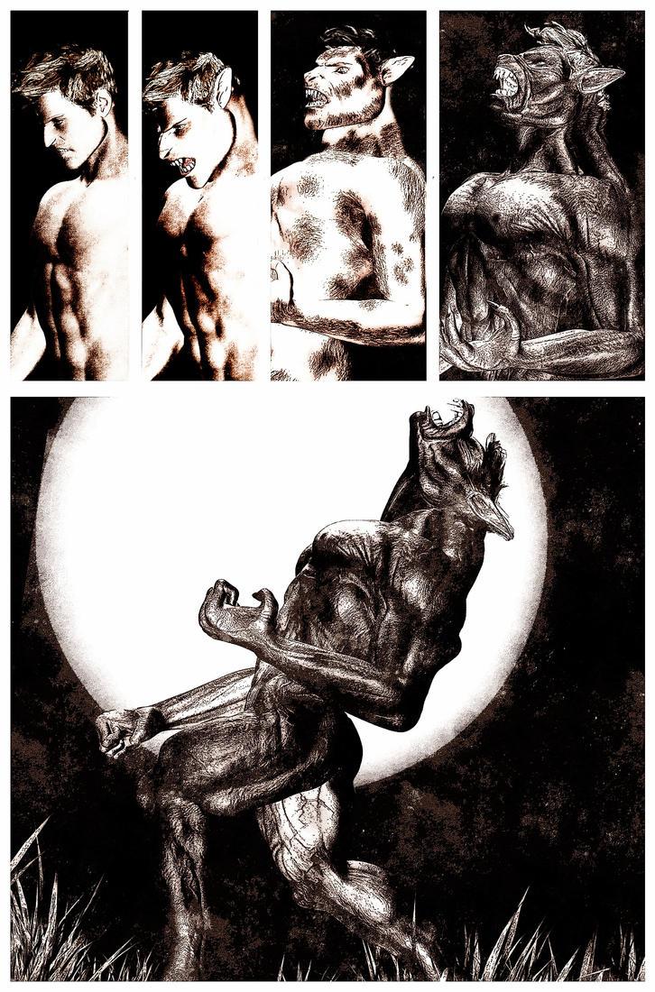 Female werewolf transformation sexy pics