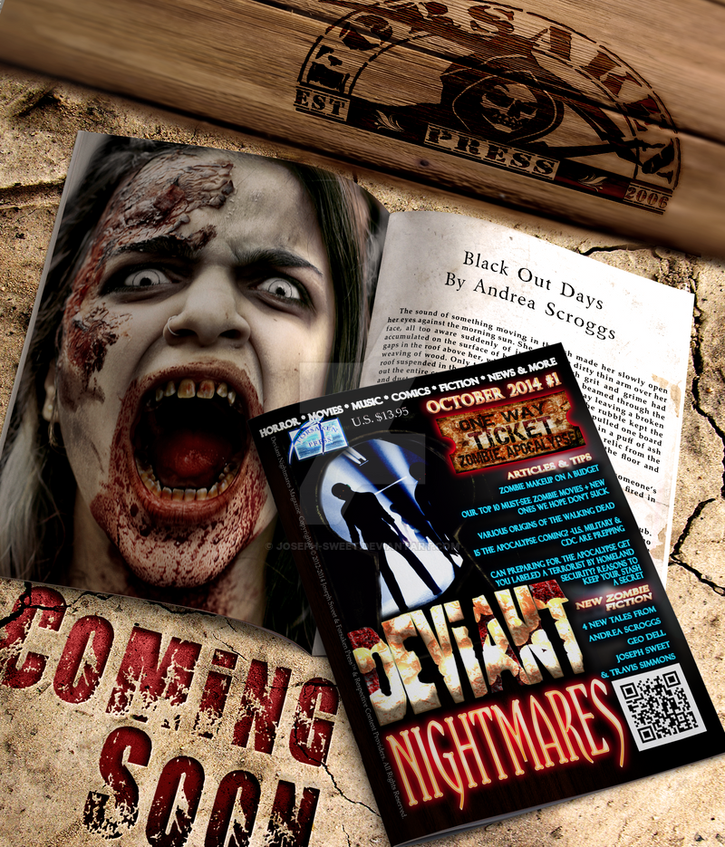 Deviant Nightmares Magazine - Issue #1 Coming Soon by joseph-sweet