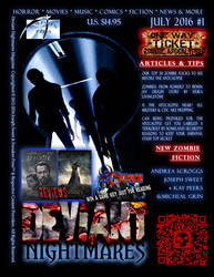 Deviant Nightmares Magazine 001 July 2016 Zombies
