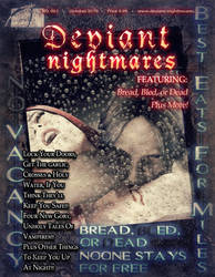 Deviant Nightmares 002 October test cover