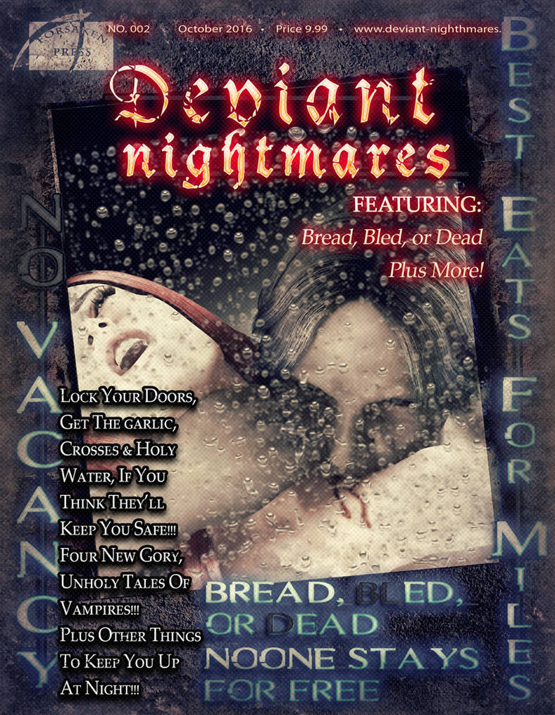 Deviant Nightmares 002 October test cover by joseph-sweet