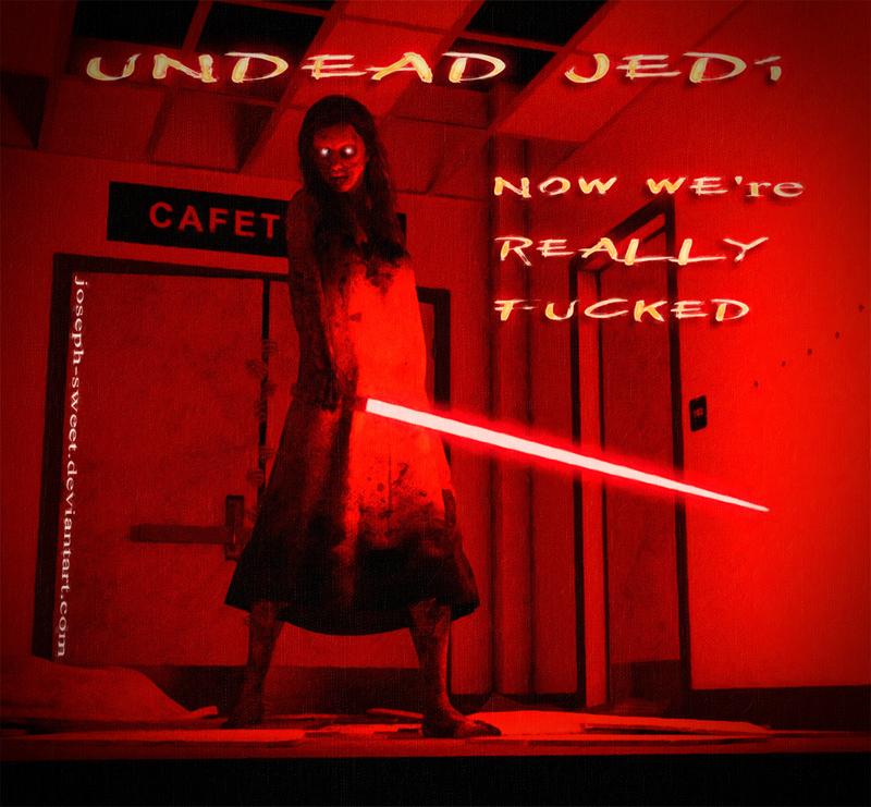 Undead Jedi by joseph-sweet