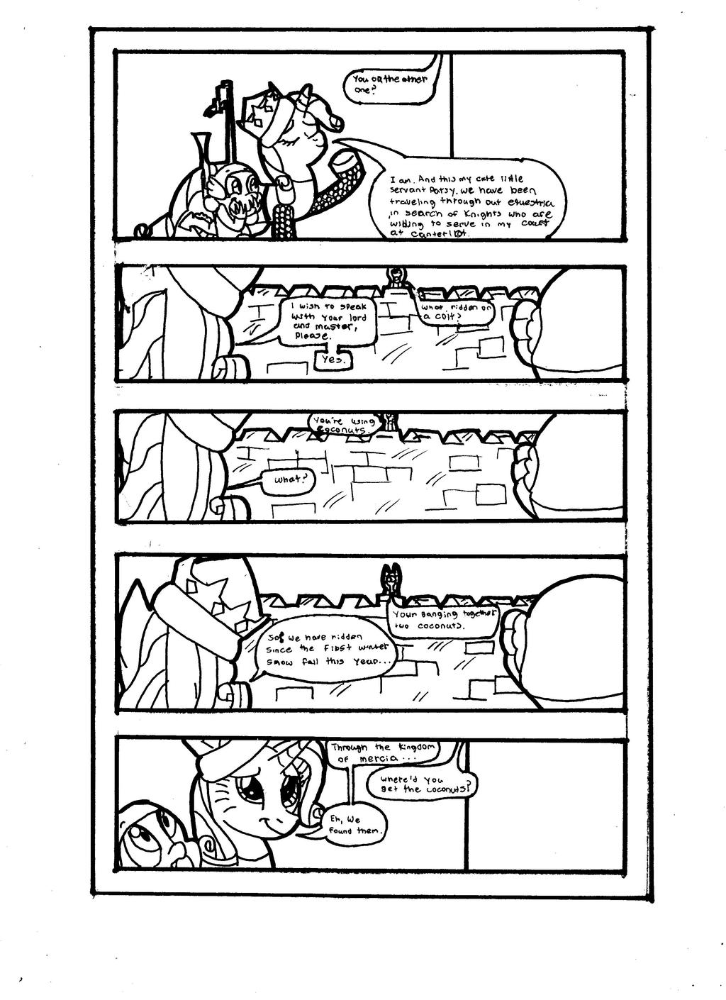 Chapter 1 page 2 by Gojihunter31