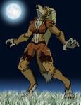Werewolf Cheetara by Gojihunter31