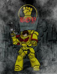 Imperial Fist Boy by Gojihunter31