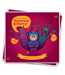 Surprise and Party card by Branieman